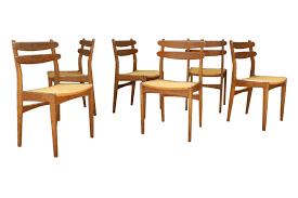 Dänische Teak Esszimmerstühle, 6er Set bei Pamono kaufen