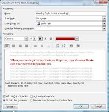 Understanding Styles in Microsoft Word - A Tutorial in the ...