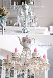 teacup chandelier tutorial