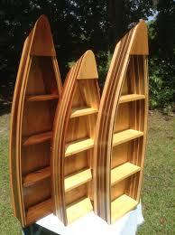 handmade boat shelves cedar and wood strip boat shelf 4ft boat bookshelf cabin decor