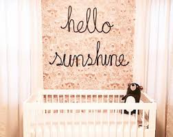 large sized wire word art yarn wire words yarn word wall art custom wire word wall art hello sunshine wall sign grey nursery decor on wall art words for nursery with wire word art etsy