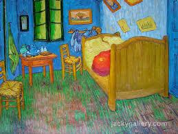 vincents bedroom at arles van gogh painting