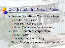 urban poor spirituality the urban poor church the culture of  6 church leadership