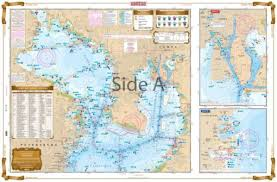 Tampa Bay Area Inshore Fishing Chart 22f Tampa Bay Area