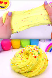 diy fluffy slime recipe how to make homemade cake batter slime without borax slime ideas for kids parties crafts easy slime recipe with