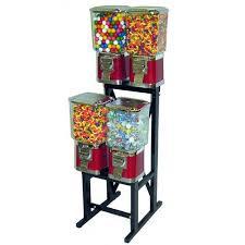 Bulk Vending Machines Custom 48 Head Bulk Vending Machine Rack Gumball