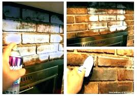 cleaning fireplace brick before painting how to clean fireplace bricks clean fireplace brick er er clean brick fireplace before paint clean fireplace brick