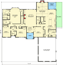 ranch floor plans with hearth room