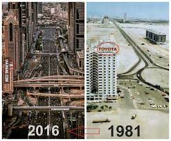 Dubai Before And After Incredible Change Of Dubai Before And After 9gag