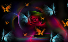 colorful butterfly wallpapers.  Colorful Dark Colorful Butterfly Wallpaper 00262 Throughout Wallpapers O
