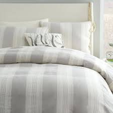 gray striped duvet cover amazing gray and white duvet cover in grey striped duvet cover next