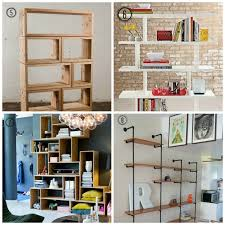 8 Diy Shelf Ideas Design Tendencies I Like The Of These Manly Looking  Shelves 6 Via