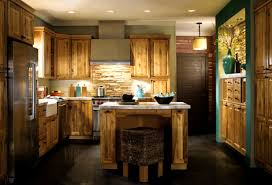 Antique Cabinets For Kitchen Distressed Kitchen Cabinets Black Black Appliances And White Or