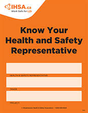 safety representitive welcome to infrastructure health safety association