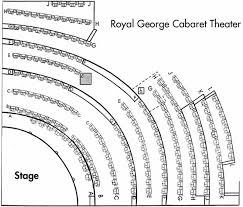 Royal George Seating Chart Royal George Cabaret Seating Chart Theatre In Chicago