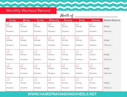 weekly weigh in charts 23 free printables to organize your familys health spaceships and