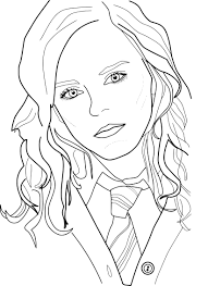 Harry Potter Coloring Page Coloring Pages For Kids