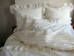 white lace duvet cover queen