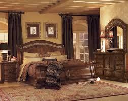 Bedroom Sets With Posts Size Bedroomking Ashley Furniture King