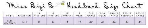 Headband Size Chart The Trendy Twisted Turban Headwrap How To Make Headbands