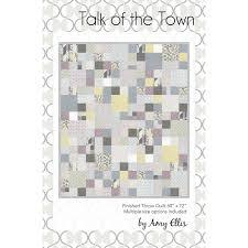 Talk of the Town PDF Quilt Pattern – Amy Ellis & Talk of the Town PDF Quilt Pattern ... Adamdwight.com