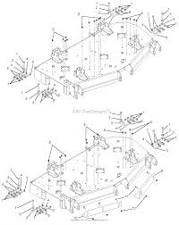Gravely 992200 020000 021999 pro turn 252 parts diagram for diagram mounting arms and vacuum baffles gravely lawn vacuum wiring diagram