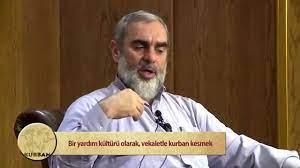 Bir yardım kültürü olarak vekaletle kurban kesmek- Nureddin Yıldız - YouTube