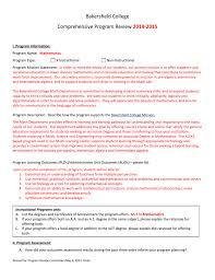 Comprehensive Review Bakersfield College