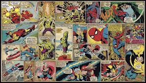 Marvel Bedroom Wallpaper Marvel Comic Wallpaper For Walls
