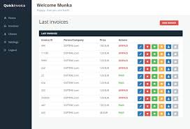 Quickinvoice Invoice Manager With Paypal Integration By Munka123