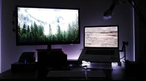 Ambient Light Behind Tv Reduce Eye Strain When Watching Television At Night With