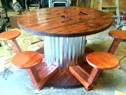 spool table ideas wood spool table unique wood spool furniture ideas on large wooden table for wooden spool spool coffee table ideas
