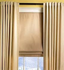 office curtain ideas. Office Curtain Ideas - Roman Shade W/ Side Curtains A