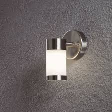 furniture modern stainless steel led outdoor wall mounted lighting ideas with motion activated light lights outside sconce coach contemporary fixtures