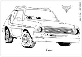 Small Picture Coloring Pages Disney Cars Francesco Coloring Pages