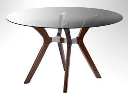 36 inch round glass table top modern wood interior home