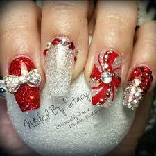 Christmas Manicure Nail Art | Nail art | Pinterest | Christmas ...