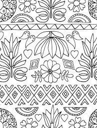 folk art coloring pages. Delighful Coloring Just Add Color Folk Art 30 Original Illustrations To Color  Intended Art Coloring Pages R