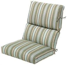 Bullnose High Back Outdoor Chair Cushion 222