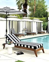 patio ideas view in gallery striped loungers from cb2 black and white stripe outdoor chair