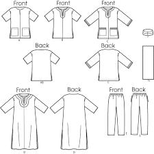 Mens Tunic Pattern
