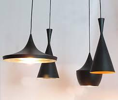 beat pendant lights modern tallwide fat beat lamps black white aluminum pendant lamps free shipping a set lamps black pendant lighting