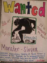 "grendel ap english  choice 1 journal entry ""wanted"""