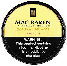 <b>Mac</b> Baren <b>Vanilla</b> Cream 3.5oz | Buy <b>Mac</b> Baren Pipe Tobacco at ...