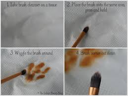 mac brush cleanser demo