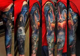 для любителей звездных войн и татуировки