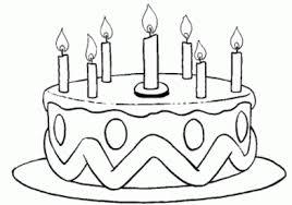 Small Picture cake coloring pages 12