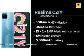 Realme C21Y With Unisoc T610 SoC ...