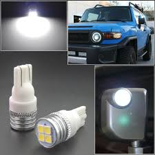 Fj Cruiser Side Mirror Lights Not Working Details About 2 Bright Hid White Led Side Mirror Light Bulbs Fit For 2007 14 Toyota Fj Cruiser