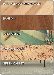 Many different eco-friendly flooring tyes available at Green Building Supply